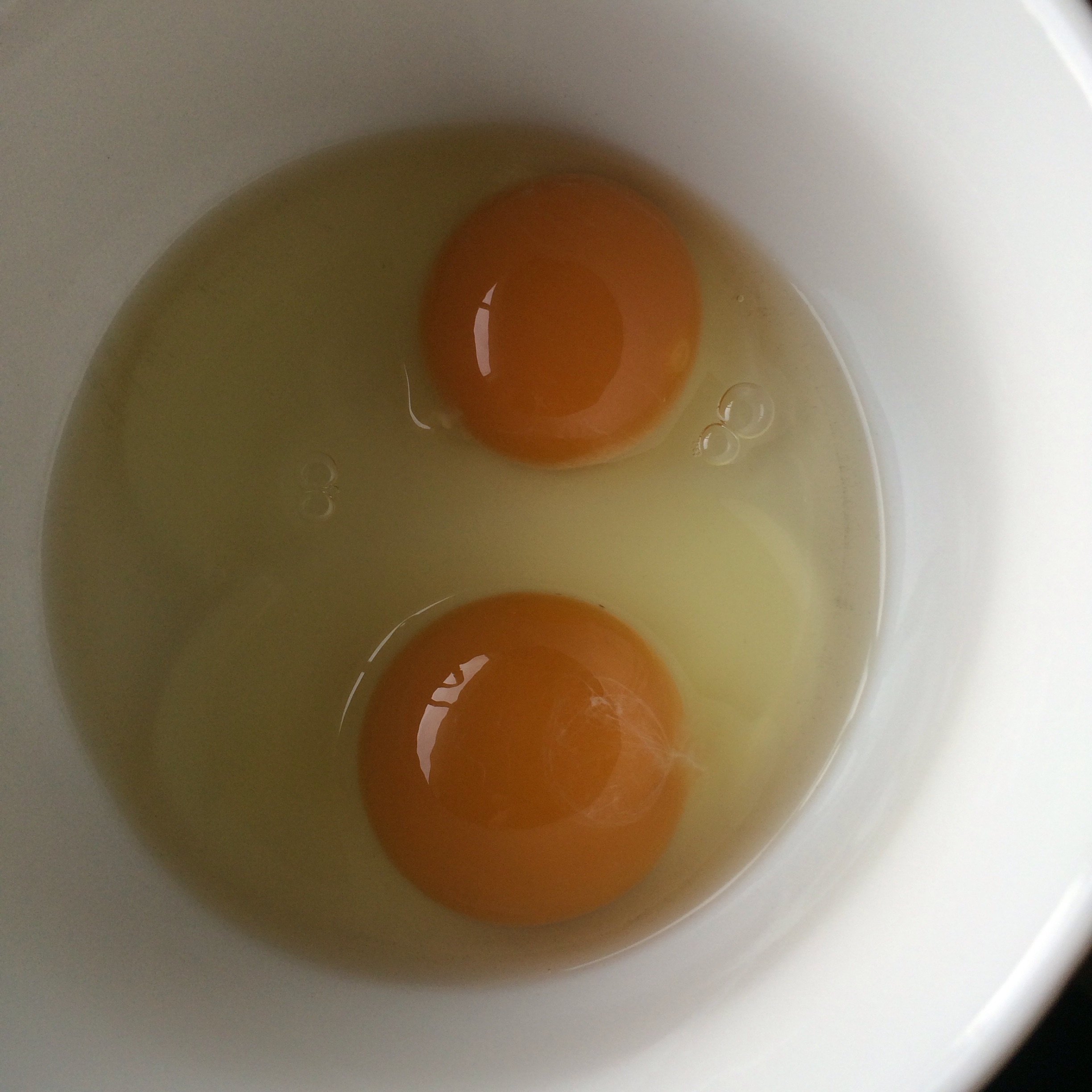 No matter what the egg shell color or size the eggs are you still get the same fantastic yolks and whites it's all and how the chickens are raised